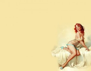 Almes Avançados - Wallpaper Pin up: Pose