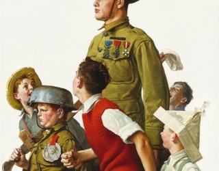 Almes Avançados - Norman Rockwell: Soldados