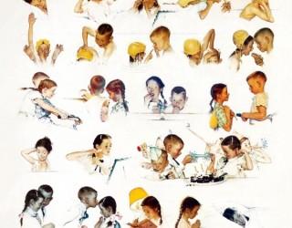 Almes Avançados - Norman Rockwell: Dia Bom