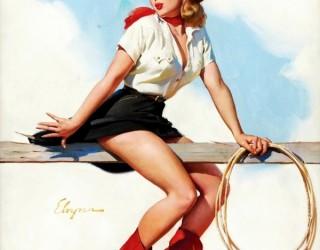 Almes Avançados - Gil Elvgren - Pin-up: Presa na Farpa