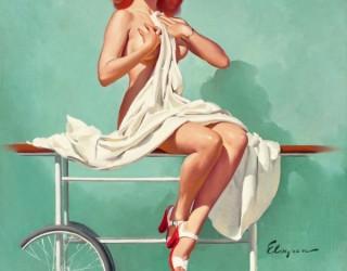 Almes Avançados - Gil Elvgren - Pin-up: Adoentada no Hospital