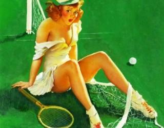 Almes Avançados - Gil Elvgren - Pin-up: No Tênis