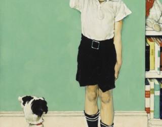 Almes Avançados - Norman Rockwell: Menino Medindo se