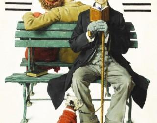 Almes Avançados - Norman Rockwell: Homem Espiando