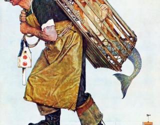 Almes Avançados - Norman Rockwell: Pescador e Sereia