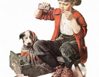 Almes Avançados - Norman Rockwell: Cão Doente