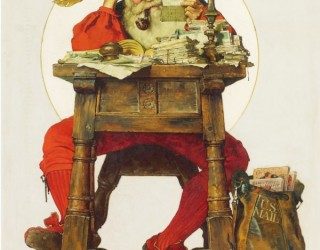 Almes Avançados - Norman Rockwell: Cartas do Papai Noel