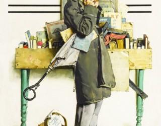 Almes Avançados - Norman Rockwell: Leitura