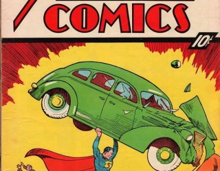 Almes Avançados - Action Comics #01: Estréia de Superman e Lois Lane 1938