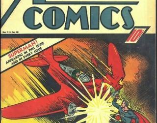 Almes Avançados - Action Comics #010: Superman 1939