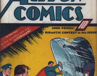 Almes Avançados - Action Comics #020: Superman 1940