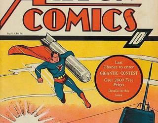 Almes Avançados - Action Comics #021: Superman 1940