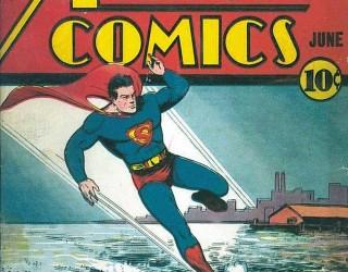 Almes Avançados - Action Comics #025: Superman 1940