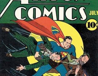Almes Avançados -  Action Comics #026: Superman 1940