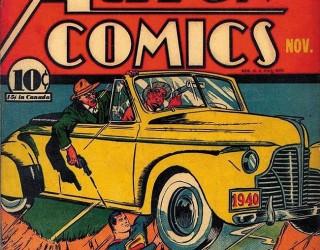 Almes Avançados - Action Comics #030: Superman 1940