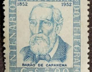 Almes Avançados - Selo Postal: Barão de Capanema 1952