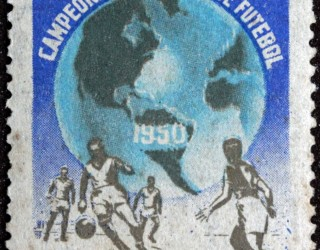 Almes Avançados - Selo Postal: Campeonato Mundial de Futebol de 1950