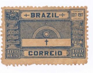 Almes Avançados - Selo Postal: Dia Nacional do Selo no Brasil 1843