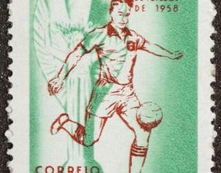 Almes Avançados - Selo Postal: Campeonato Mundial de Futebol de 1958