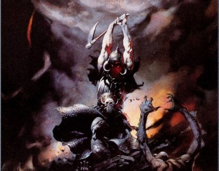 Almes Avançados - Frank Frazetta - Mercador da Morte 1986