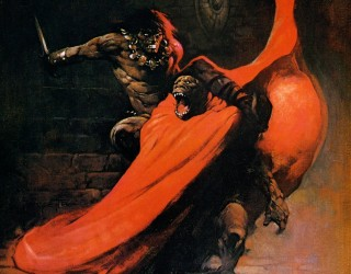 Almes Avançados - Frank Frazetta - Conan, o Destruidor