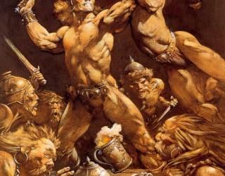 Almes Avançados - Frank Frazetta - Conan 1985