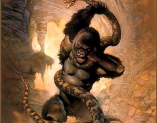 Almes Avançados - Frank Frazetta - King Kong 1976