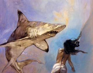 Almes Avançados - Frank Frazetta - Tubarão