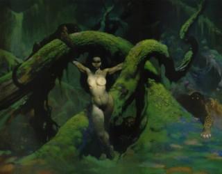 Almes Avançados - Frank Frazetta - Garota Selvagem
