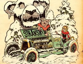 Almes Avançados - Stranski   Carro e Neve