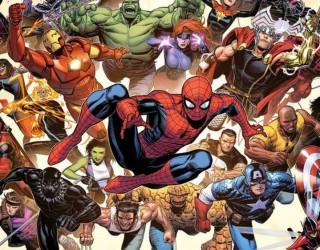 Almes Avançados - Heróis da Marvel
